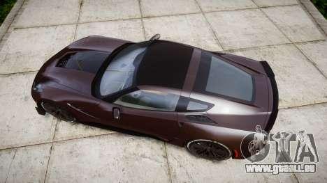 Chevrolet Corvette Z06 2015 TireYA2 pour GTA 4 est un droit