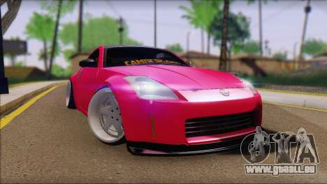 Nissan 350Z CAMBERGANG pour GTA San Andreas