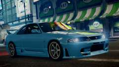 Nissan Skyline BCNR33 JUN VER pour GTA 4