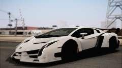 Lamborghini Veneno LP750-4 White Black 2014 HQLM
