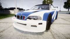 BMW M3 E46 GTR Most Wanted plate Liberty City