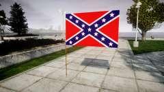 Die Flagge der Konföderierten Staaten