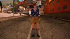 Modern Woman Skin 9 v2 pour GTA San Andreas