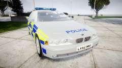 BMW 525i E39 Touring Police [ELS] BTV