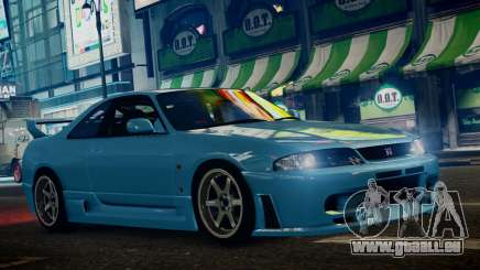 Nissan Skyline BCNR33 JUN VER pour GTA 4