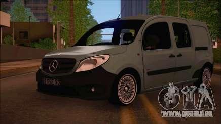 Mercedes-Benz Citan Stock 2013 pour GTA San Andreas