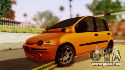 Fiat Multipla Normal Bumpers pour GTA San Andreas
