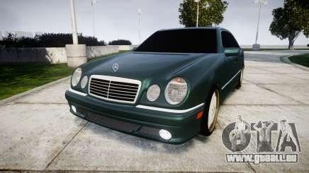 Mercedes-Benz W210 E55 2000 AMG pour GTA 4