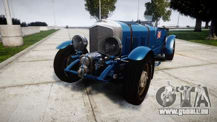 Bentley Blower 4.5 Litre Supercharged [high] pour GTA 4