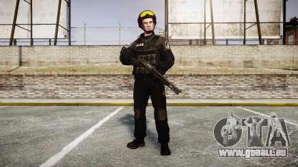 Uniformen Angriff Gruppen mit besonderen. Waffen für GTA 4