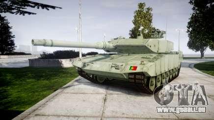Leopard 2A7 PT Green pour GTA 4