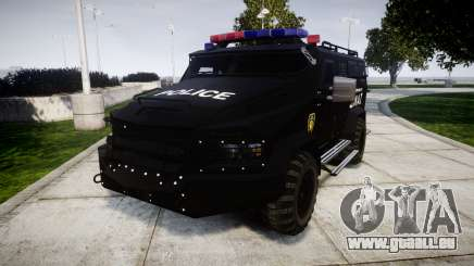 SWAT Van [ELS] für GTA 4