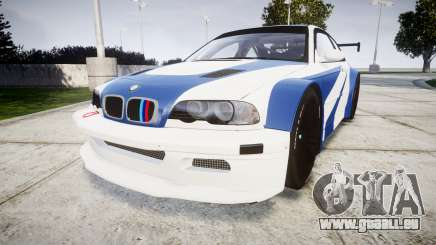 BMW M3 E46 GTR Most Wanted plate Liberty City pour GTA 4