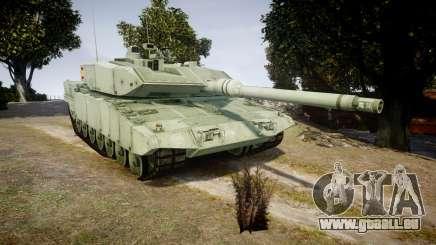 Leopard 2A7 ES Green für GTA 4