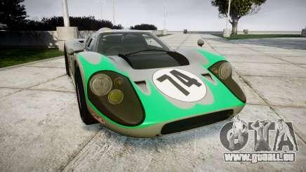 Ford GT40 Mark IV 1967 PJ Arnao Racing 74 pour GTA 4