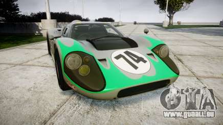 Ford GT40 Mark IV 1967 PJ Arnao Racing 74 für GTA 4