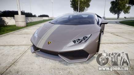 Lamborghini Huracan LP 610-4 2015 pour GTA 4