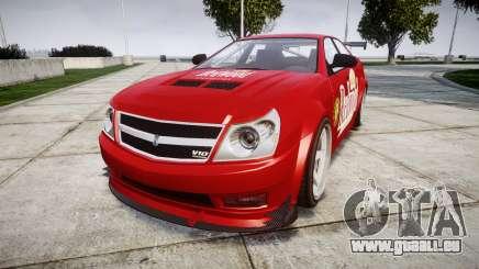 Albany Presidente Racer [retexture] Redwood für GTA 4
