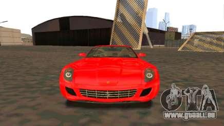 Ferrari 599 Beta v1.1 für GTA San Andreas