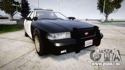 GTA V Vapid Police Cruiser Rotor für GTA 4