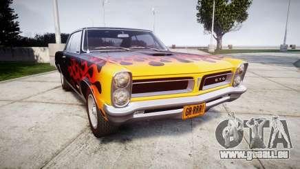 Pontiac GTO 1965 Flames für GTA 4