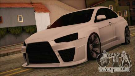 Mitsubishi Lancer Evolution X HD SHDru tuning v1 für GTA San Andreas