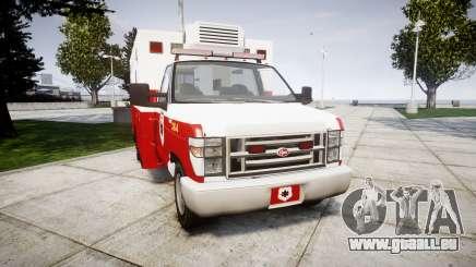 Brute V-240 Ambulance [ELS] für GTA 4