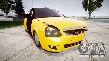 VAZ-Lada 2170 Priora hobo pour GTA 4