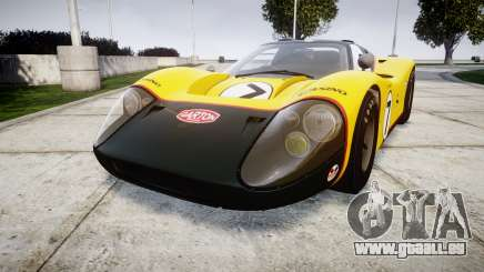 Ford GT40 Mark IV 1967 PJ Fernando Pedace 7 pour GTA 4