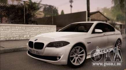 BMW 520d 2012 pour GTA San Andreas