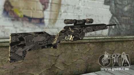 Le nouveau fusil de sniper pour GTA San Andreas deuxième écran