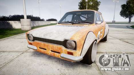 Ford Escort Mk1 Rust Rod v2.0 pour GTA 4