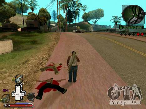 C-HUD Optiwka für GTA San Andreas zweiten Screenshot