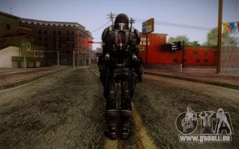 Shepard N7 Defender from Mass Effect 3 pour GTA San Andreas deuxième écran