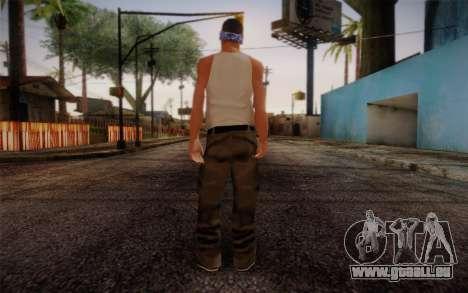 New Fam Skin 2 pour GTA San Andreas deuxième écran