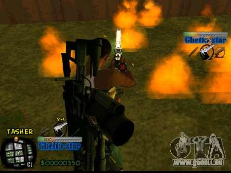 C-HUD Ghetto Star pour GTA San Andreas troisième écran