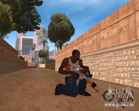 CS:GO Weapon pack Asiimov für GTA San Andreas