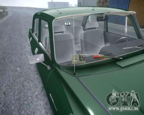 AZLK 2140 für GTA 4 Rückansicht