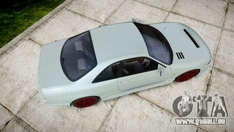 Nissan Skyline GT R33 1996 pour GTA 4 est un droit
