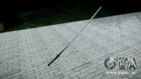 Sabre de samouraï pour GTA 4