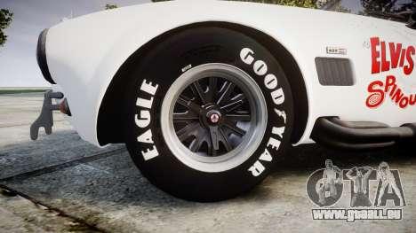 AC Cobra 427 PJ3 für GTA 4 Rückansicht