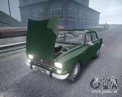 AZLK 2140 pour GTA 4 est une vue de l'intérieur