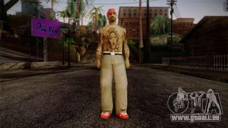 Fresno Buldogs 14 Skin 1 für GTA San Andreas