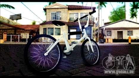 New Bike für GTA San Andreas zurück linke Ansicht