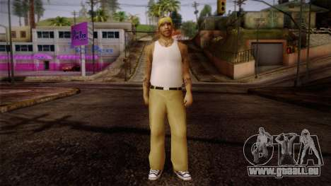 Fresno Buldogs 14 Skin 2 pour GTA San Andreas