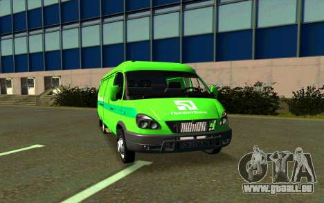 GAZelle 2705 PrivatBank pour GTA San Andreas