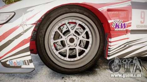 Nissan 240SX S13 D. Yoshihara für GTA 4 Rückansicht