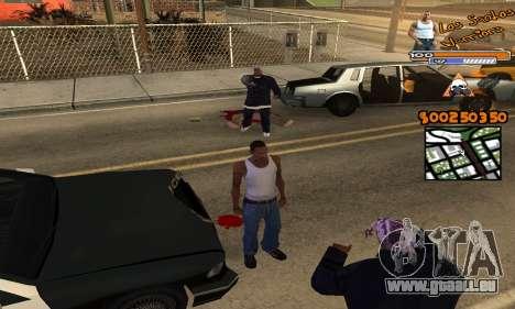 C-HUD by Fernando Delgado pour GTA San Andreas troisième écran