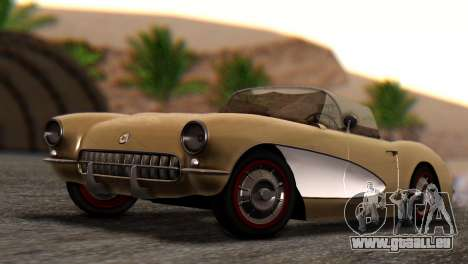 Chevrolet Corvette C1 1962 Dirt pour GTA San Andreas