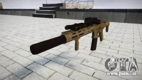 Fusil d'assaut AAC ratel [Remake] tar pour GTA 4